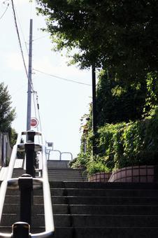 비탈길의 계단