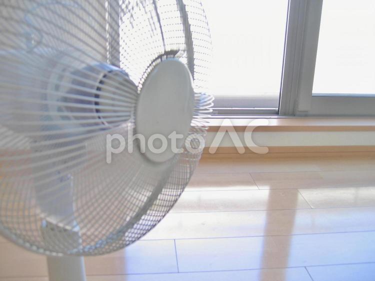 扇風機の写真