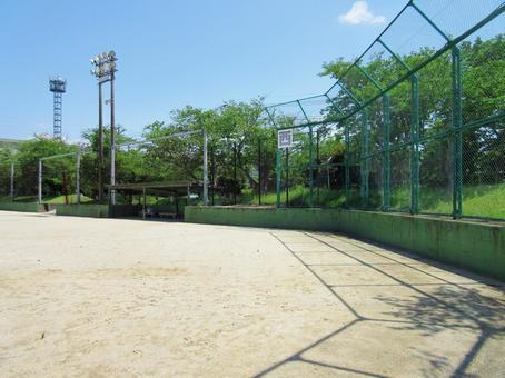 Baseball field School playground Baseball field School ground Playground Ground
