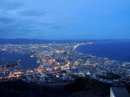 Night view of Hakodate (3)