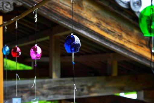 Wind chime festival at Kannonji Temple in Hiroshima City