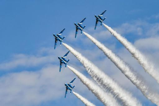 Iruma Air Festival Blue Impulse