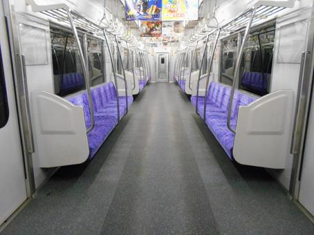 Unmanned train Inside the train (13)