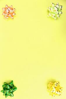 色带纹理背景的黄色带条带