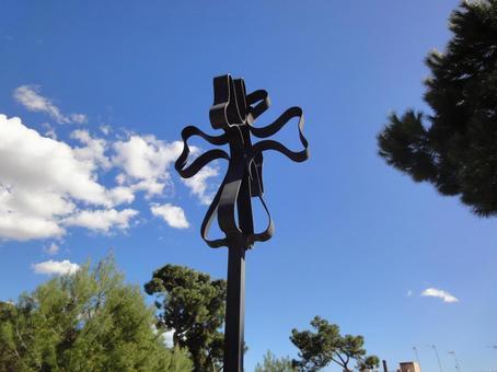 Colonia Guell Church Cross