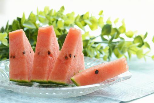 Cold watermelon