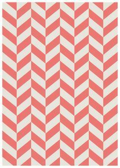 Scandinavian design oblique square pink