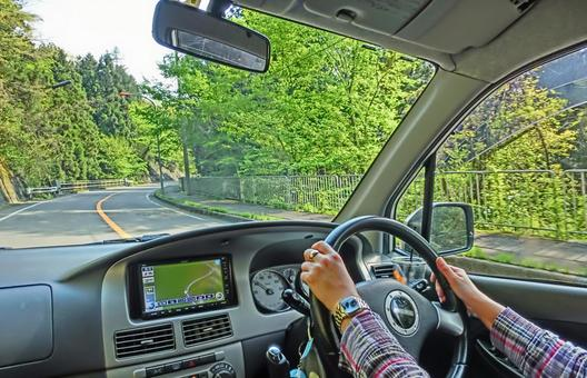 Mountain road drive 6
