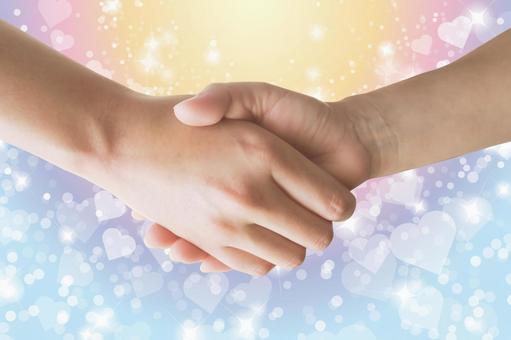 新婚生活-握手