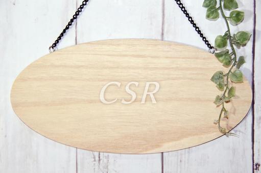 Elliptical plate CSR