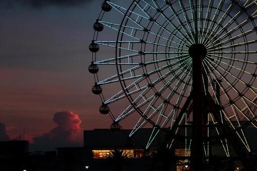 Ferris Wheel 2 at night