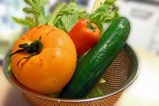 Summer vegetables # 5