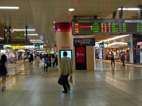 Ueno station premises