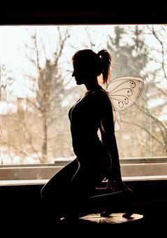 Sitting fairy 3