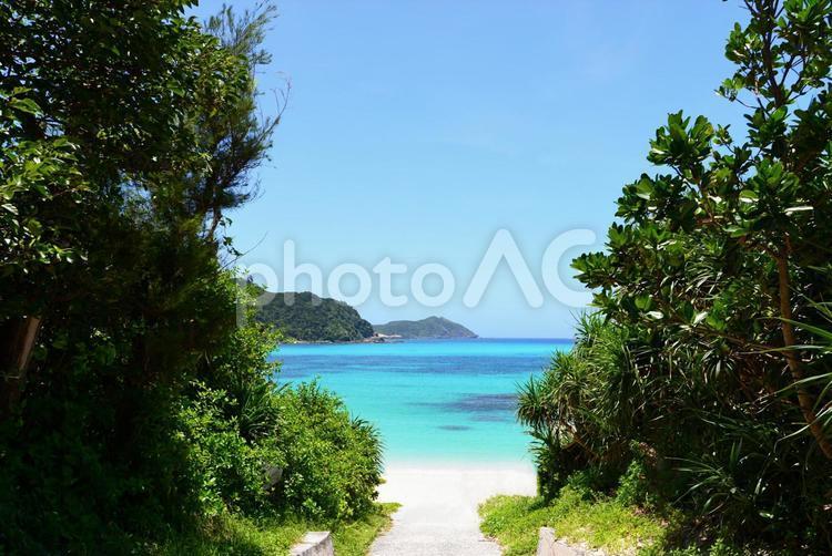 慶良間諸島の絶景の写真