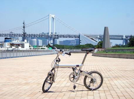 Cycling Rainbow Bridge