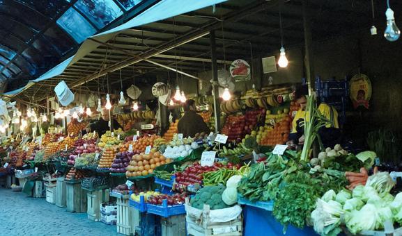Turkish townscape market 3