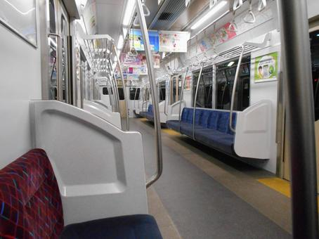 Unmanned train Inside the train (2)