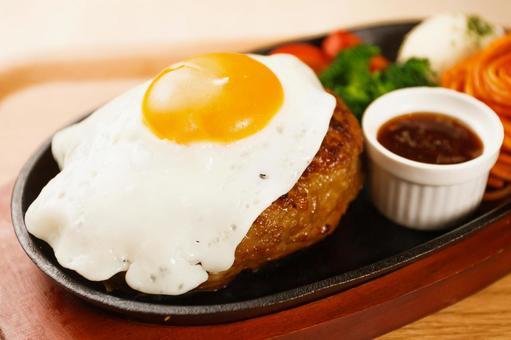 달걀 햄버거
