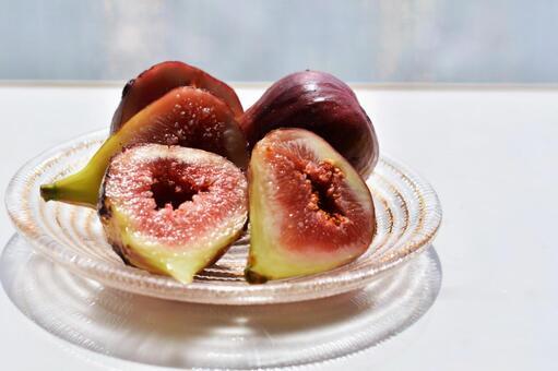 Autumn taste figs