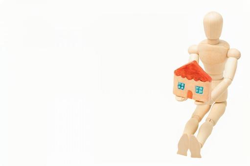マイホーム購入(右配置・白背景)