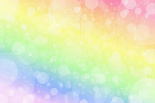 Rainbow-colored texture