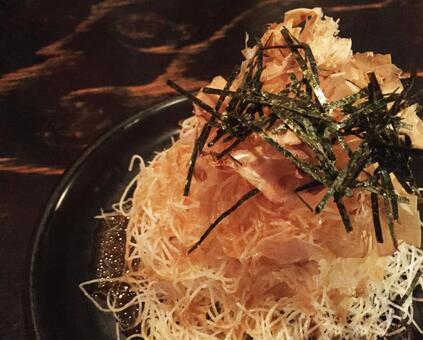 日式沙拉配蘿蔔
