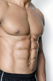 Athlete's abdominal muscle 15