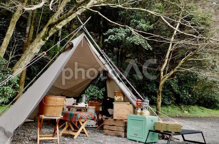 デイキャンプの写真