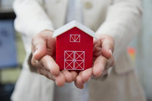 집의 모형 그림자 99