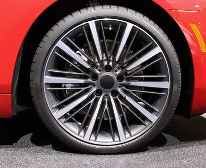 Cars Wheels Tires Imported cars Red body