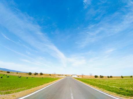 이사하야 중앙 간척의 아름다운 풍경