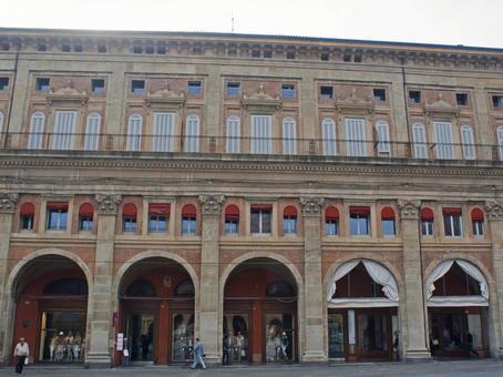 Building of Bologna Station