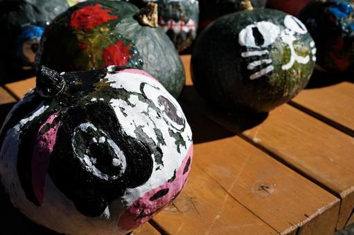 Ranch Halloween pumpkin