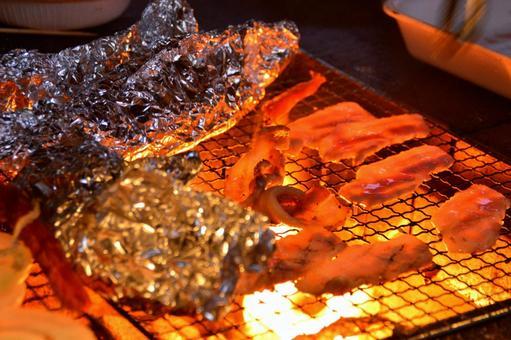 밤 바베큐 BBQ