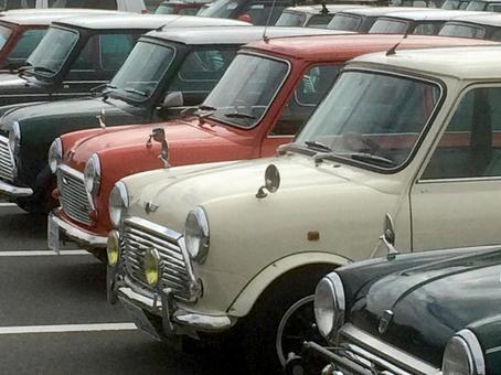Cute mini size classic car