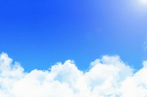 Refreshing summer sky