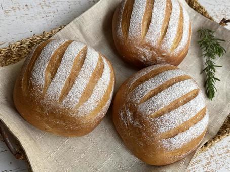 우유 하스 (우유 빵) 가로
