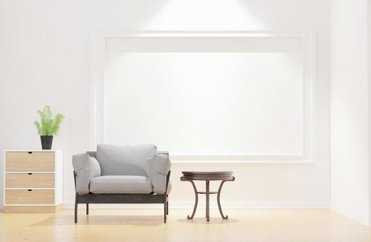 Image of interior taken in a refreshing morning